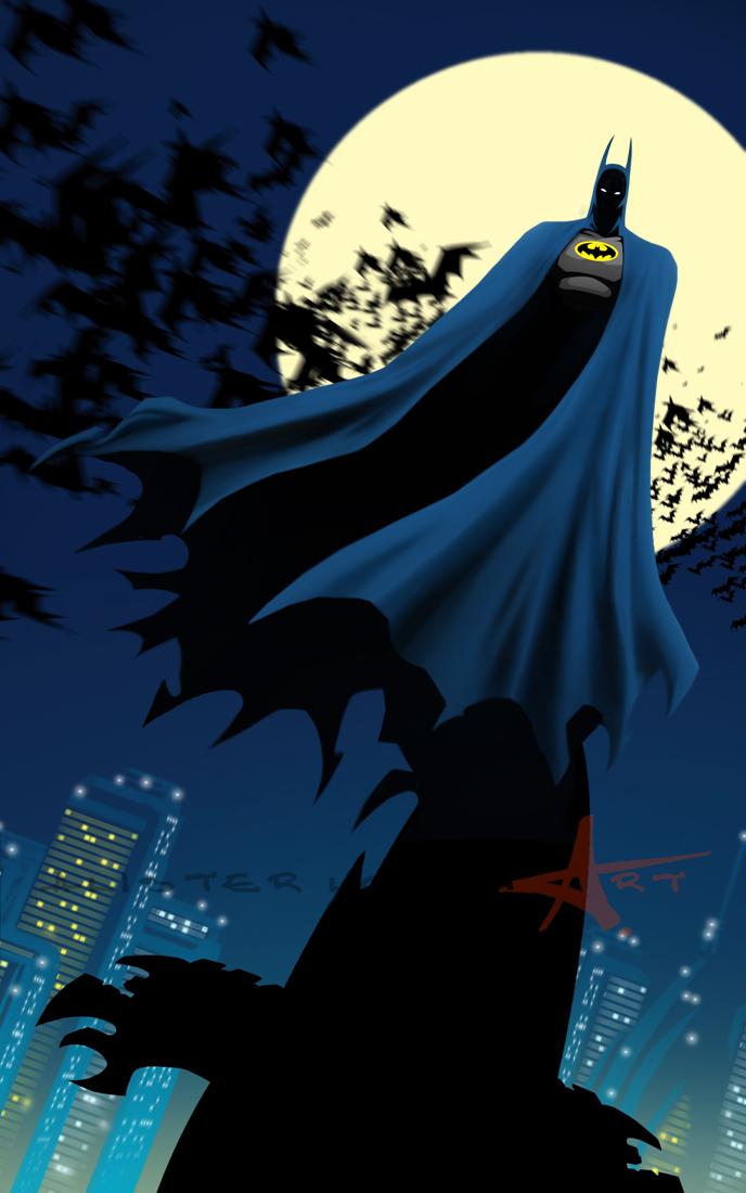Dark Knight by Caveatscoti