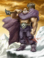 Storm Giant by Caveatscoti