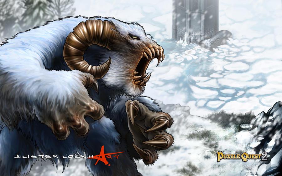 Yeti by Caveatscoti