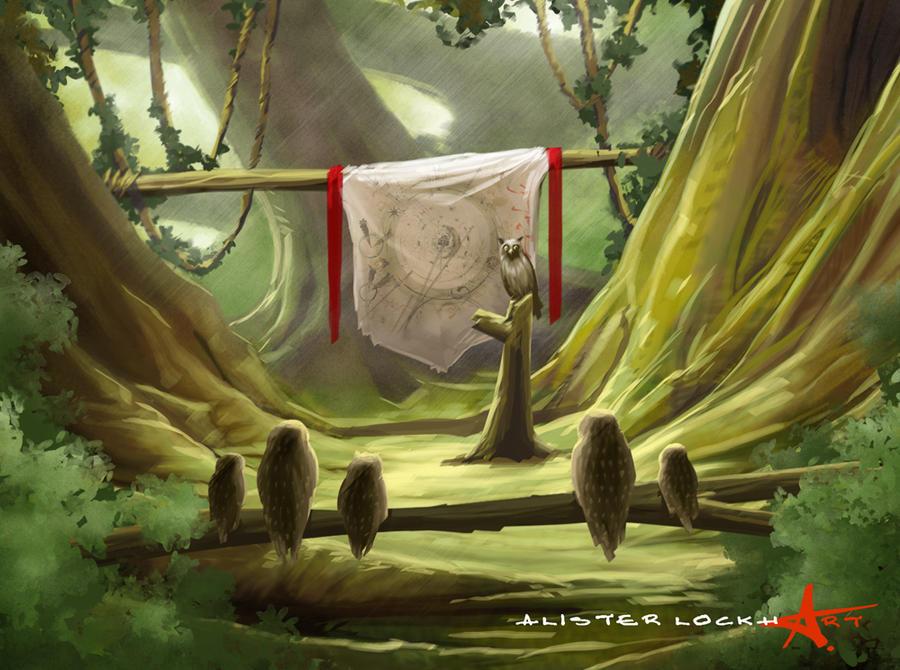 Ga'Hoole- Mission Brief by Caveatscoti