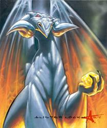 Silver Dragon by Caveatscoti