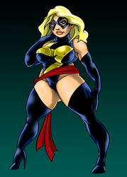 Ms. Marvel+ by Caveatscoti