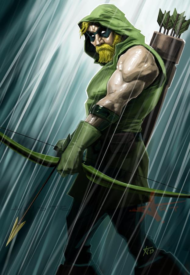 Green Arrow By Caveatscoti