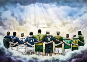 The Gods of Rugby Heaven