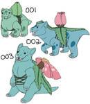 Real Pokemon: 001-003