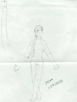 Ninja Lady 1