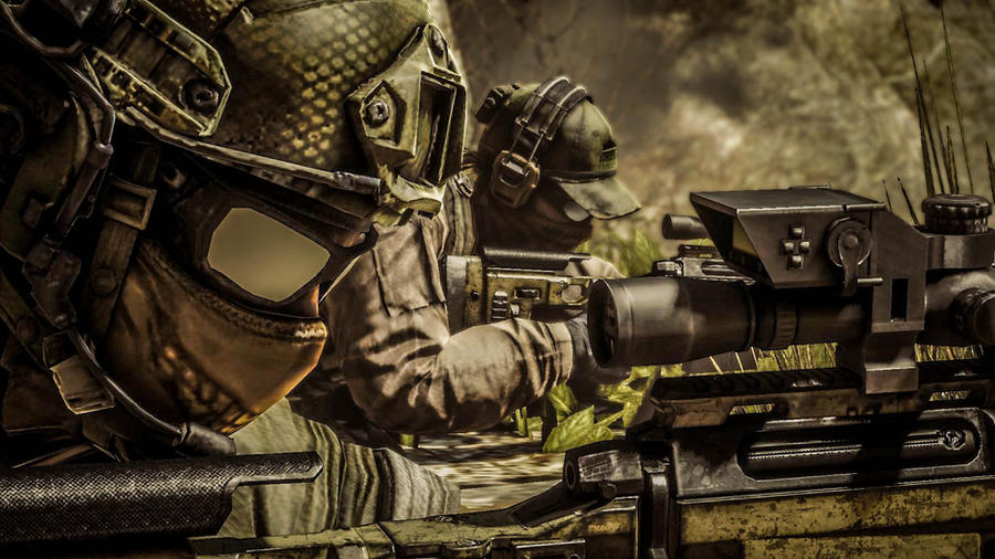 ghost sniper team ghost recon future soldier by