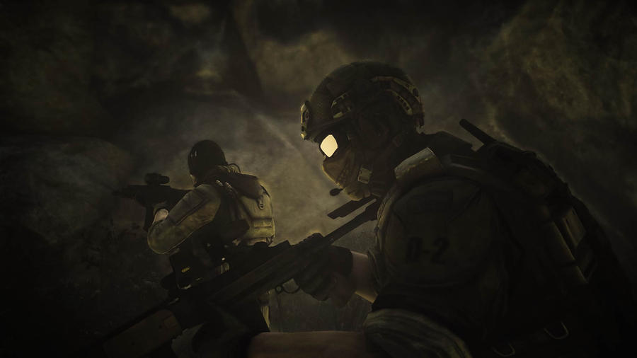 On the Move and in the Dark (Ghost Recon) by mattboggs