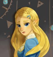 BOTW: Zelda by AriSotnia