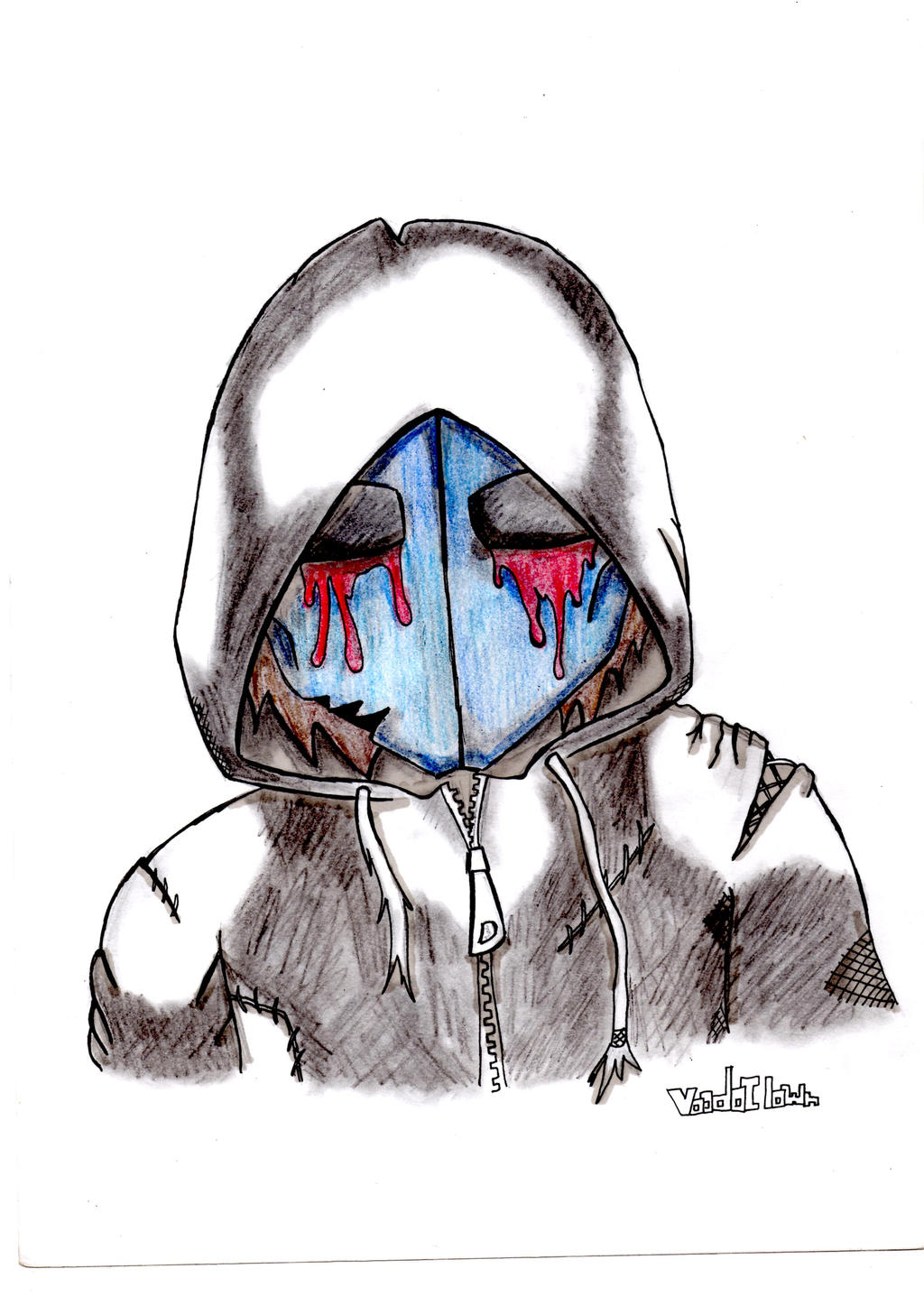Creepypasta:Eyeless Jack by voodoclown