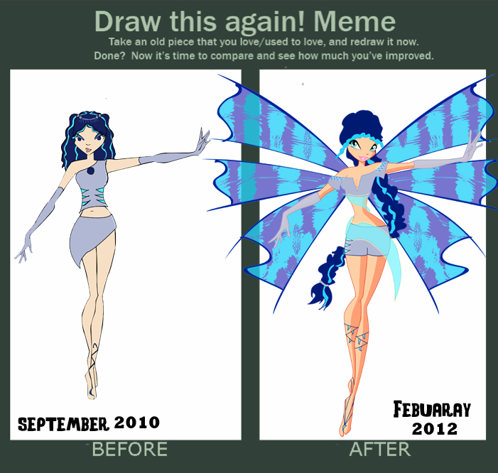 Draw this again! meme by pippy-lunalove on DeviantArt