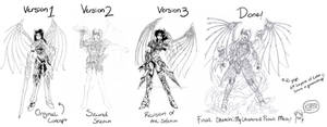Dark Dragoon's Evolution