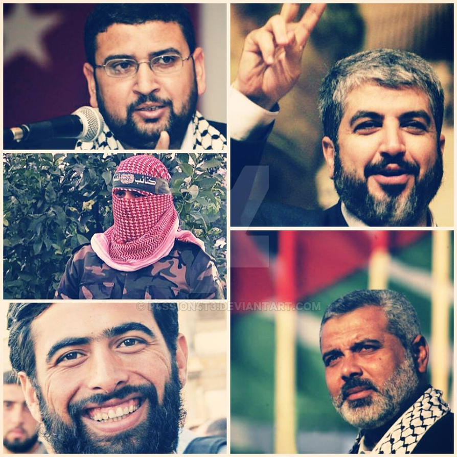 freedom fighters in Gaza, God protect you by P4ssion4t3