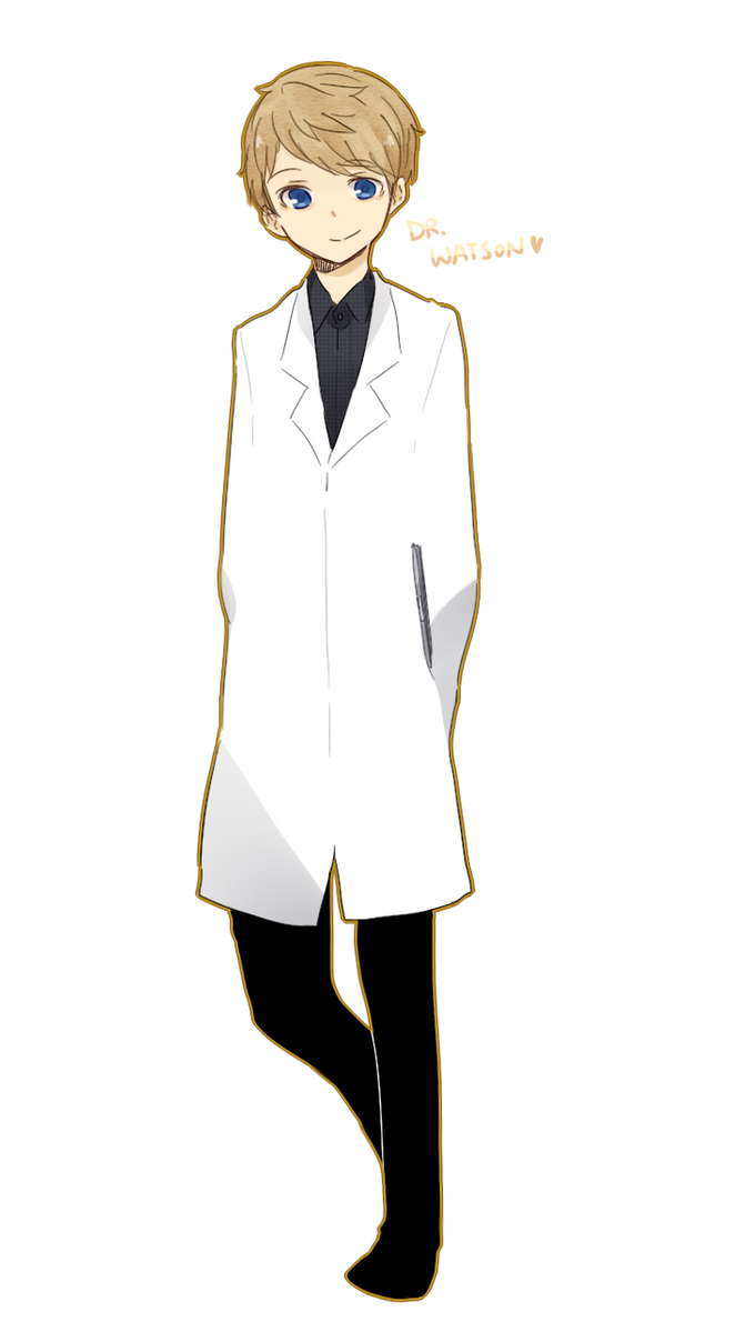 Dr. Watson by patatomato