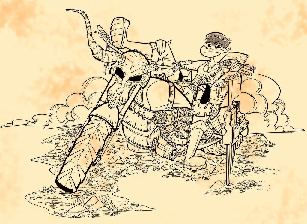 Mad Max - Furiosa by DIstraido