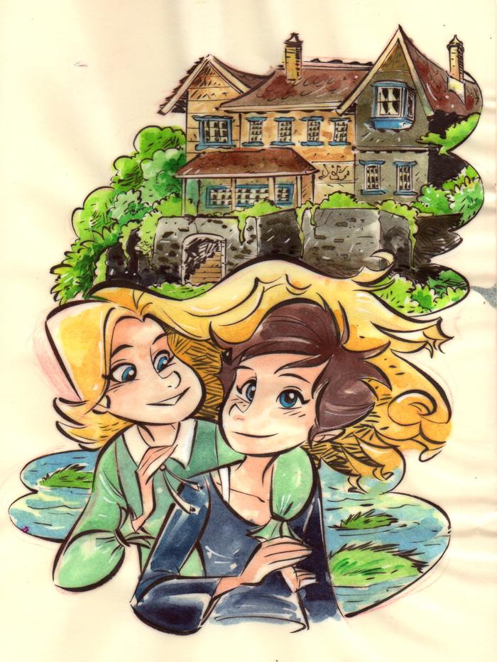 Ghibli Studio - When Marnie Was There by DIstraido