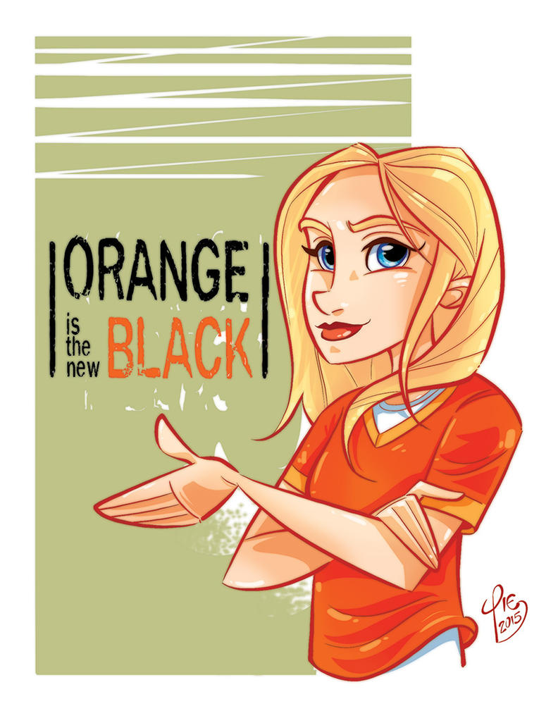 Orange is the New Black by DIstraido