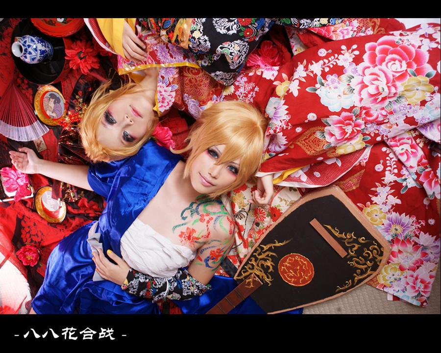 Hachi Hachi Flower Battle V by YAsuukun