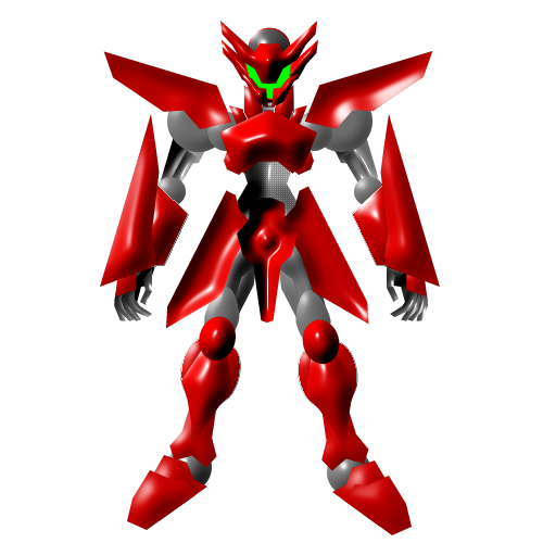 Red Mecha by Eddkun