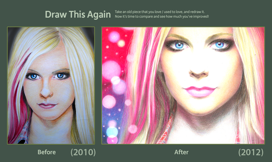 Draw Avril Again by JairoxD