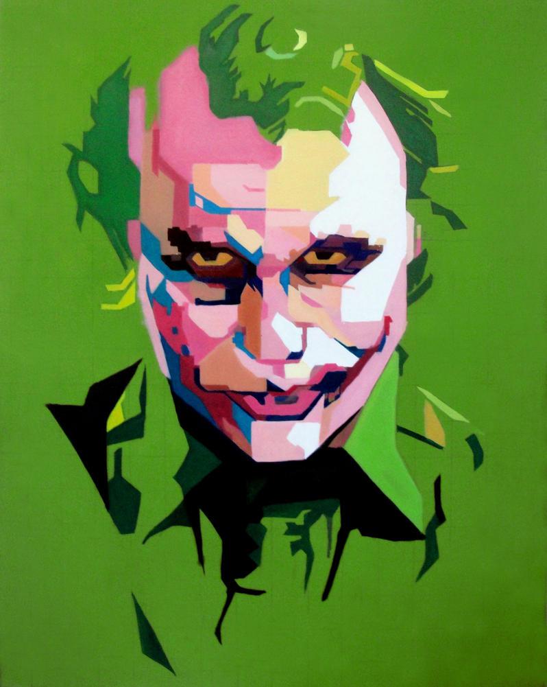 Joker WPAP by JairoxD