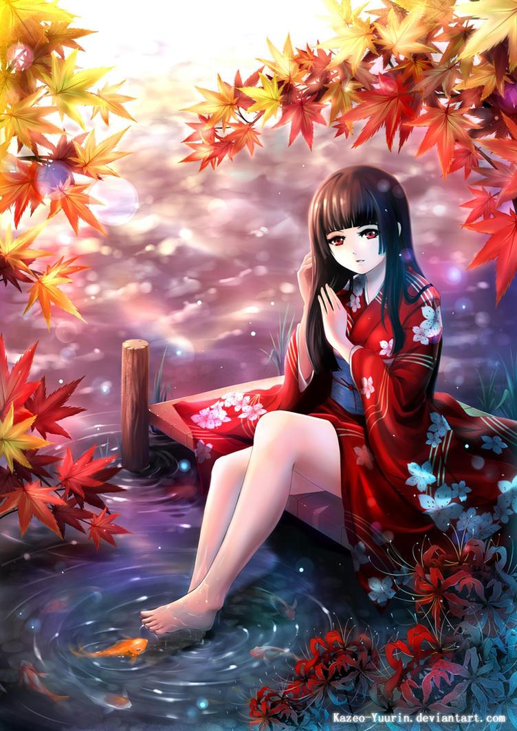 Kimono Shoujo by Kazeo-YuuRin