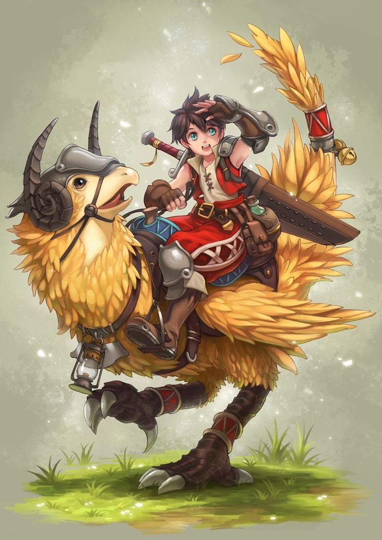 Adventurer by Kazeo-YuuRin