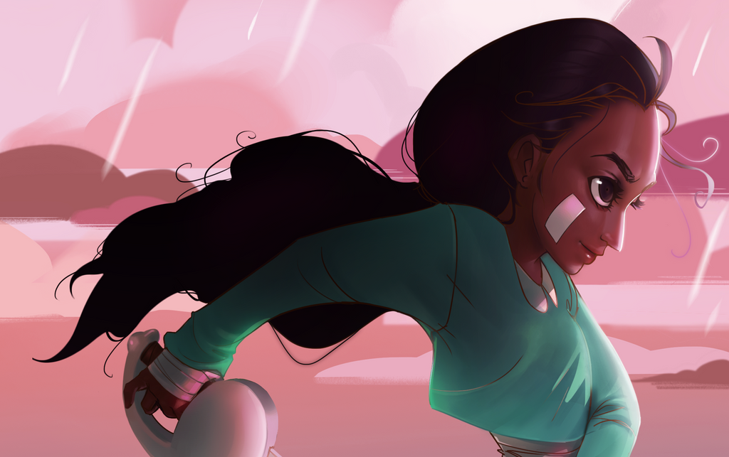 Just watched 'Sworn to the sword'! Therefore, here is some Connie fan art for you