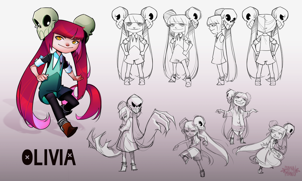 Character Design: Olivia by azncamcam