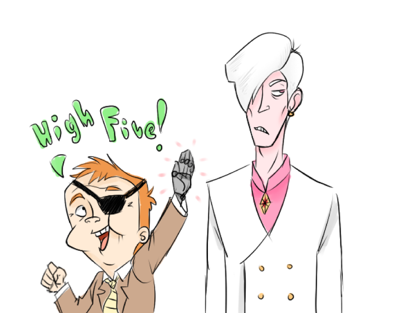 High 5 by JohnnyZim777