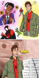 spider men by JohnnyZim777