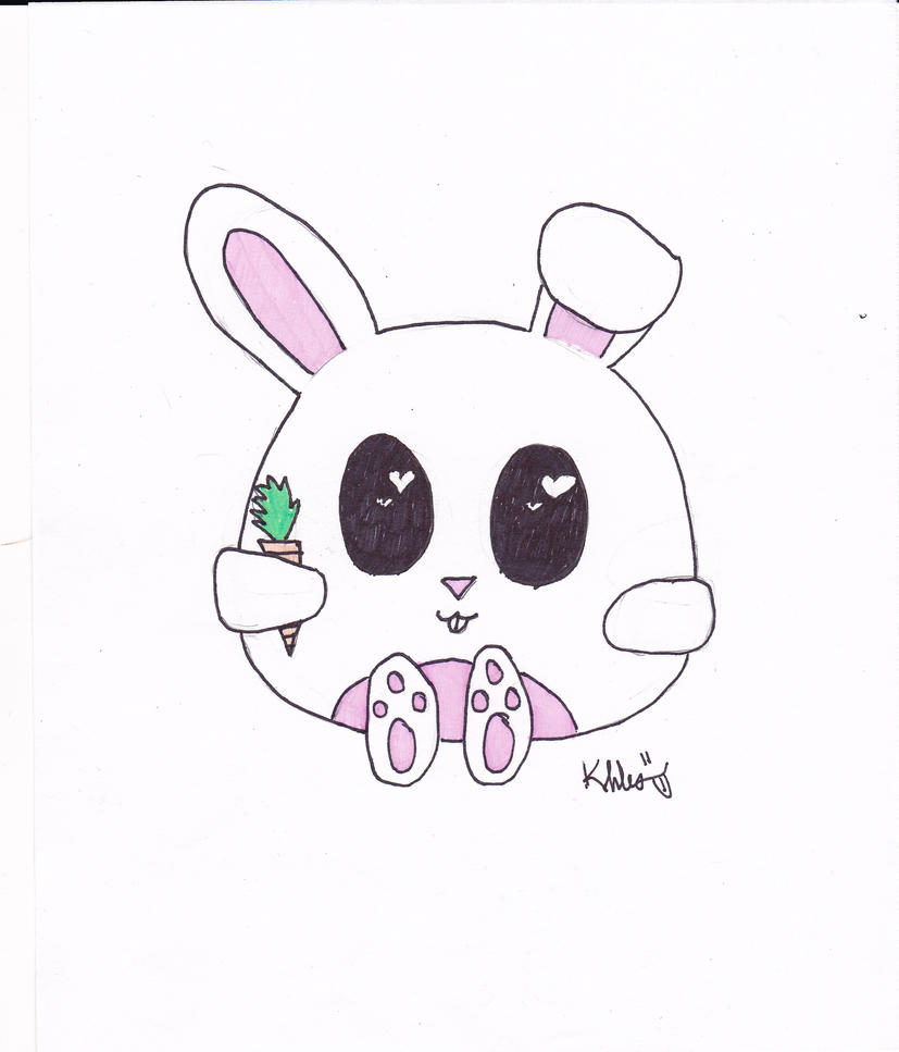 Photo collection cute chibi bunny drawings how to draw a cute chibi bunny in 2 min how to draw cartoons ccuart Gallery
