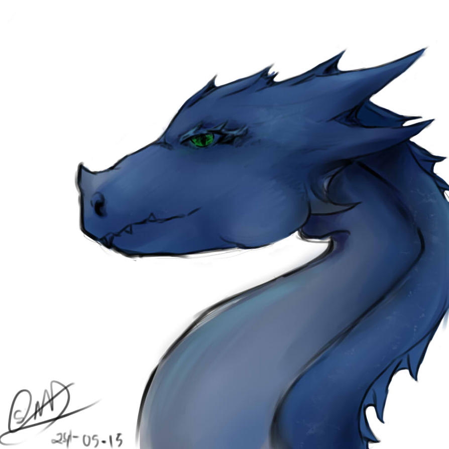 Blue Dragon by WFpeonix