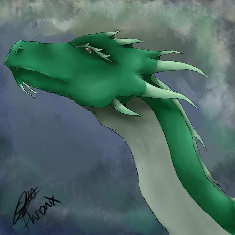 sky dragon by WFpeonix