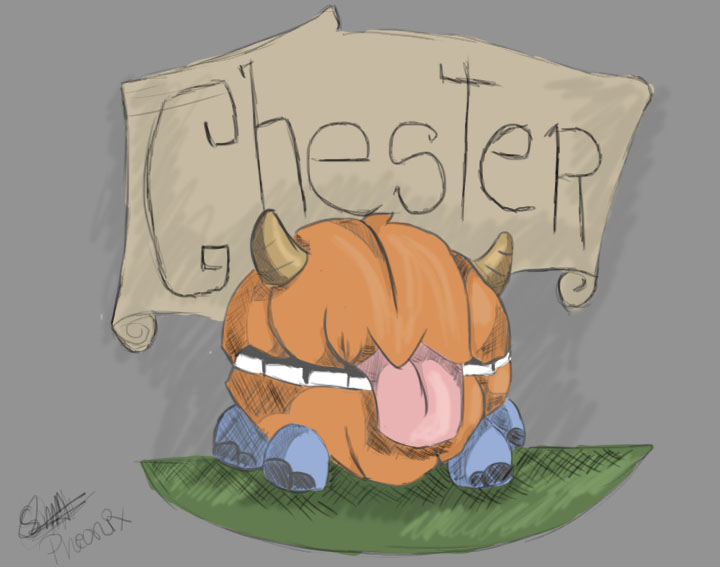Dont Starve Chester~ by WFpeonix
