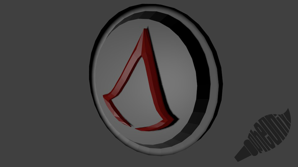 3D Logo AsesindCreed by WFpeonix