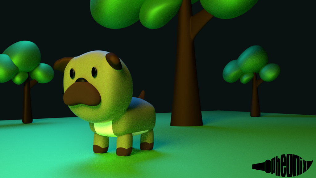 Ruffo the Pug [Simple 3D] by WFpeonix