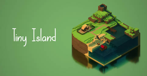 Tiny Island by WFpeonix
