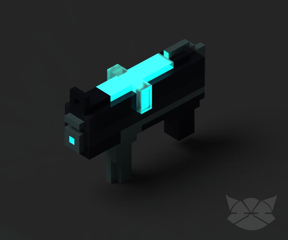 Sci Fi Gun by WFpeonix