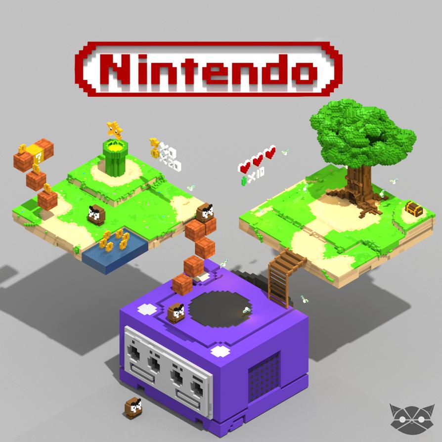 Little world of nintendo by WFpeonix