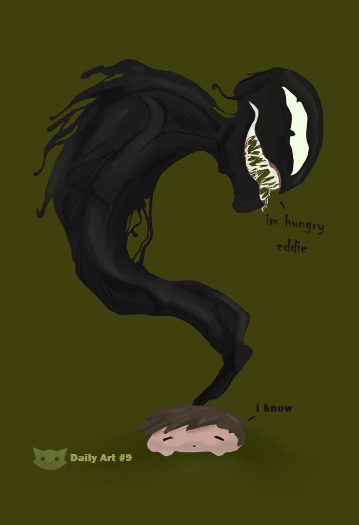 Im hungry eddie - daily art #9 by WFpeonix