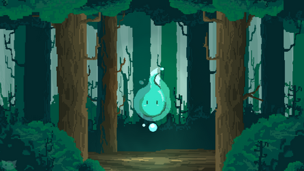 Magic Fores - My Firt Pixel Art by WFpeonix