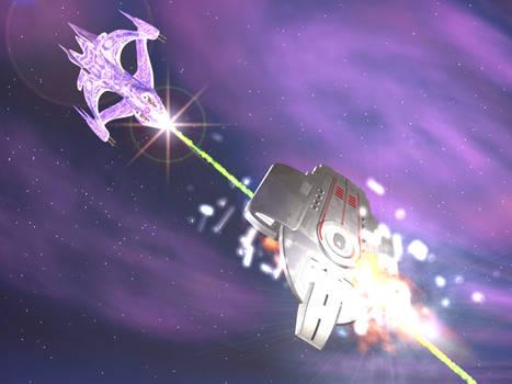 Whitestar vs Defiant