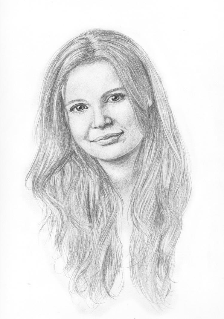 Pencil Portrait by Unique-Firecracker-4