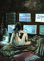Cyberpunk browser by Rodethos