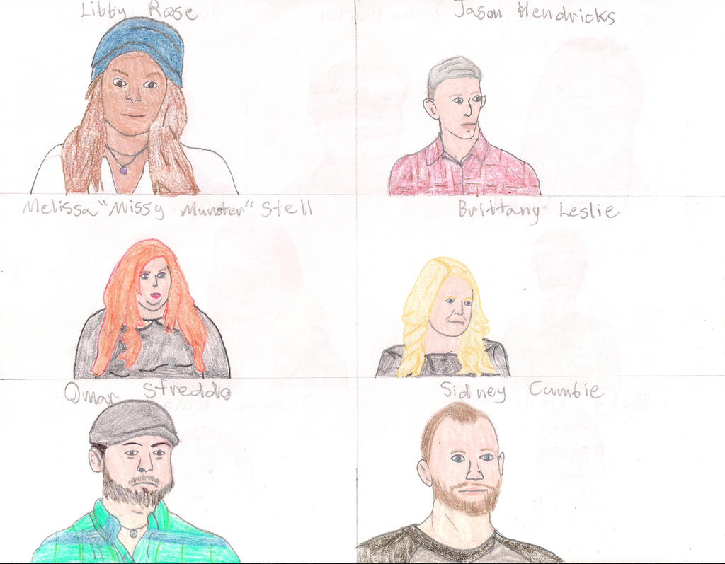 Face Off Season 9 Cast by MatthieuLacrosse
