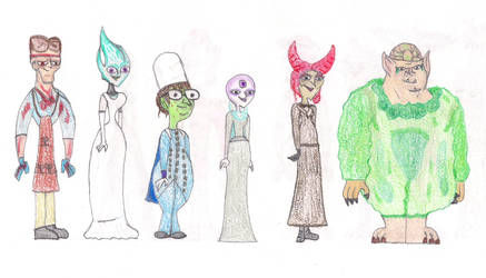 Total Drama Face Off 11 by MatthieuLacrosse