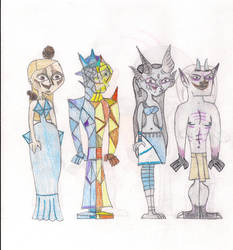 Total Drama Face Off 16 by MatthieuLacrosse
