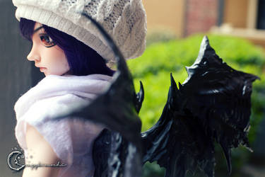 Darkness Angel by tinaheart