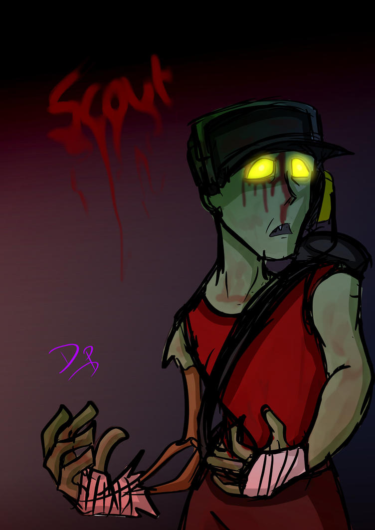 TF2 - Zombie Scout by datPurple on DeviantArt